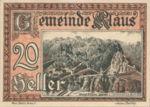 Austria, 20 Heller, FS 454Ic
