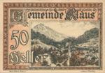 Austria, 50 Heller, FS 454Ic