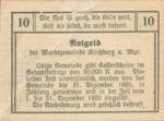 Austria, 10 Heller, FS 439Ia