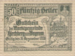 Austria, 50 Heller, FS 439Ia