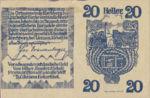Austria, 20 Heller, FS 443a