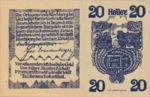 Austria, 20 Heller, FS 443b