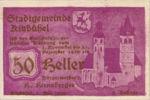 Austria, 50 Heller, FS 449e1