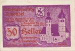 Austria, 50 Heller, FS 449f1