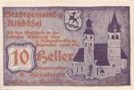 Austria, 10 Heller, FS 449g1