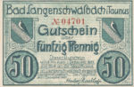 Germany, 50 Pfennig, 771.1
