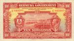 Bermuda, 10 Shilling, P-0004,B104