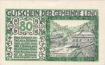 Austria, 80 Heller, FS 511IIa