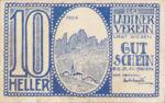 Austria, 10 Heller, FS 410A
