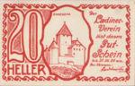 Austria, 20 Heller, FS 410A