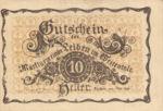 Austria, 10 Heller, FS 509