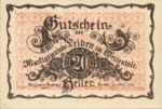Austria, 20 Heller, FS 509