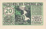 Austria, 20 Heller, FS 511IIa