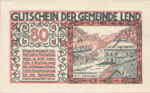 Austria, 80 Heller, FS 511IIb