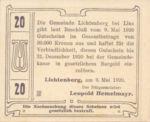 Austria, 20 Heller, FS 518a