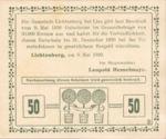 Austria, 50 Heller, FS 518a