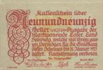 Austria, 99 Heller, FS 560a