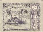 Austria, 50 Heller, FS 563a