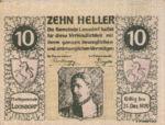 Austria, 10 Heller, FS 563c