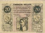 Austria, 20 Heller, FS 563c