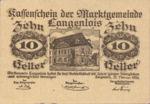 Austria, 10 Heller, FS 501a
