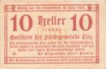 Austria, 10 Heller, FS 529b