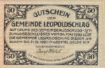 Austria, 50 Heller, FS 516