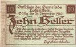 Austria, 10 Heller, FS 566IIa