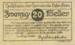 Austria, 20 Heller, FS 566IVa