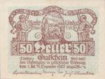 Austria, 50 Heller, FS 495