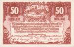 Austria, 50 Heller, FS 496aF