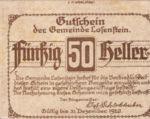 Austria, 50 Heller, FS 566IVb