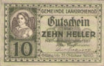 Austria, 10 Heller, FS 494b