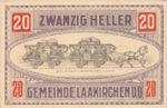 Austria, 20 Heller, FS 494b