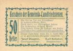 Austria, 50 Heller, FS 499IIa
