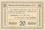 Austria, 20 Heller, FS 497a