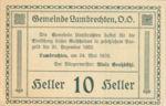 Austria, 10 Heller, FS 497b