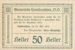Austria, 50 Heller, FS 497b
