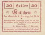 Austria, 20 Heller, FS 520