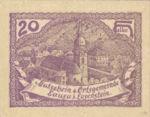 Austria, 20 Heller, FS 506Ia