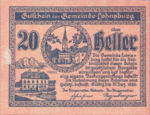 Austria, 20 Heller, FS 561II