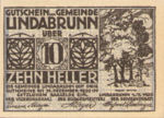 Austria, 10 Heller, FS 527a