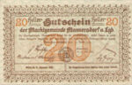 Austria, 20 Heller, FS 577a