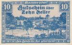 Austria, 10 Heller, FS 577a
