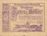 Austria, 10 Heller, FS 590II