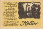 Austria, 20 Heller, FS 592a