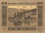 Austria, 10 Heller, FS 617a