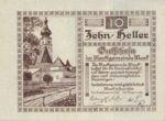 Austria, 10 Heller, FS 576b
