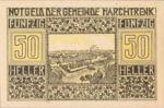 Austria, 50 Heller, FS 581b
