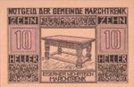 Austria, 10 Heller, FS 581c